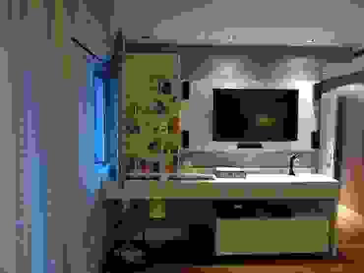 05_Projeto de Interiores Quartos modernos por Paula Carvalho Arquitetura Moderno