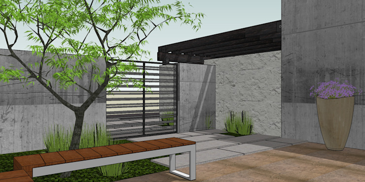 casa Nueva Casas minimalistas de MARCELA MORA; Arquitectura e Interiores Minimalista