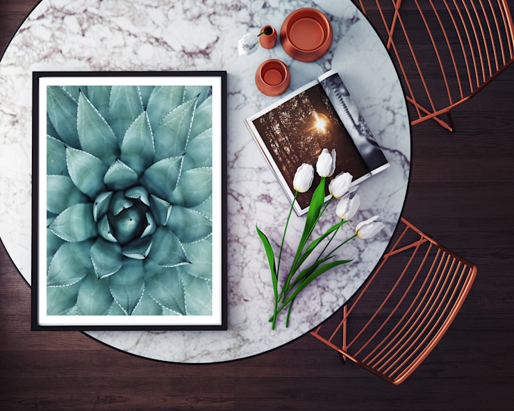 K&L Wall Art Living roomAccessories & decoration Giấy Green