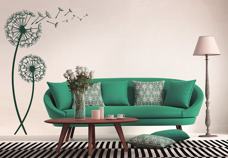 K&L Wall Art Living roomAccessories & decoration Synthetic Green