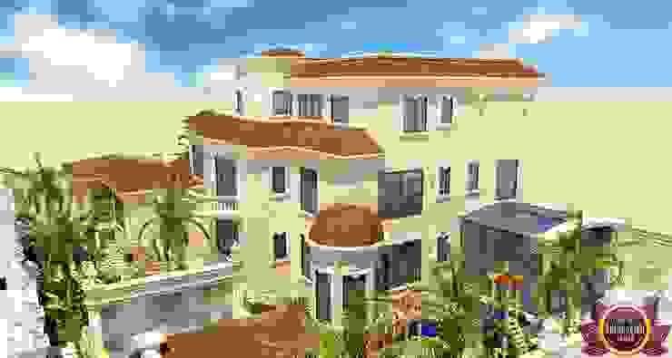 Luxury Exterior design of Katrina Antonovich Classic style houses by Luxury Antonovich Design Classic