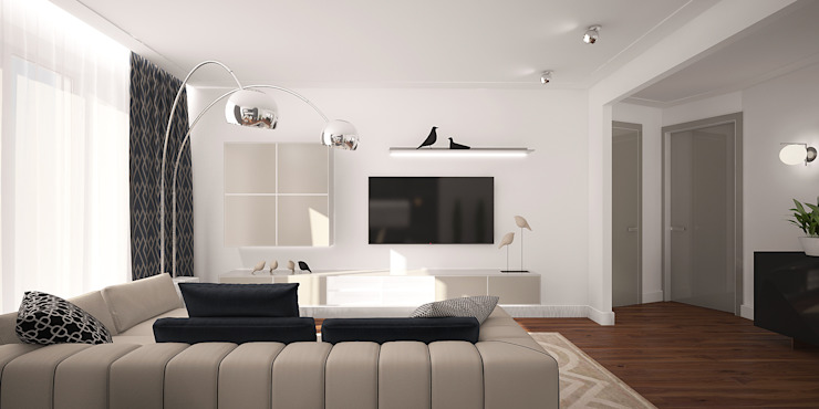 needsomespace Moderne woonkamers