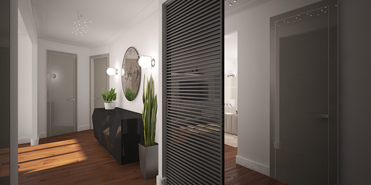 needsomespace Moderne gangen, hallen & trappenhuizen