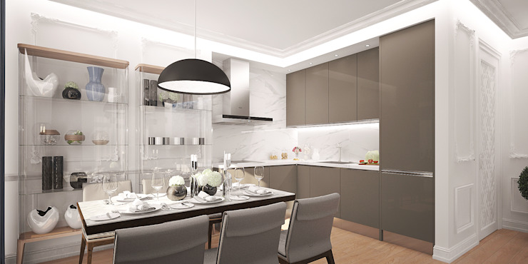 needsomespace Eclectic style kitchen