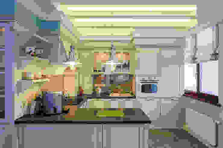 Nhà bếp phong cách đồng quê bởi Строительная компания Конструктив Крым Đồng quê
