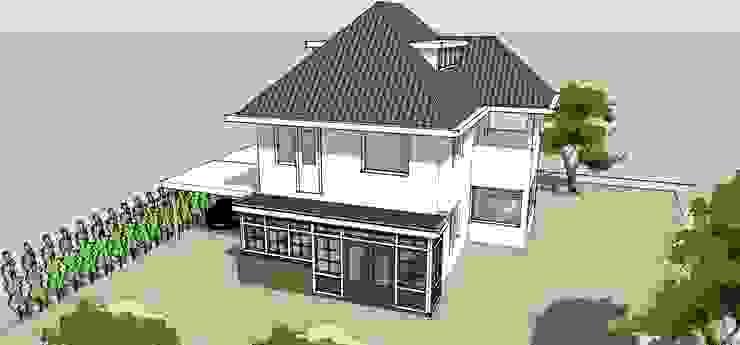 Uitbreiding woonkamer en keuken Klassieke huizen van De E-novatiewinkel Klassiek Hout Hout