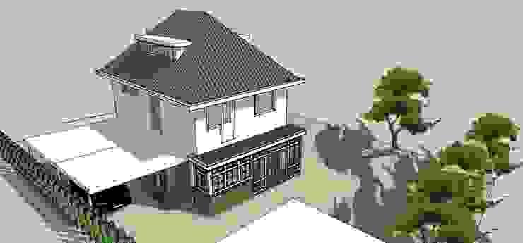 Uitbreiding keuken en bijkeuken Klassieke huizen van De E-novatiewinkel Klassiek Hout Hout