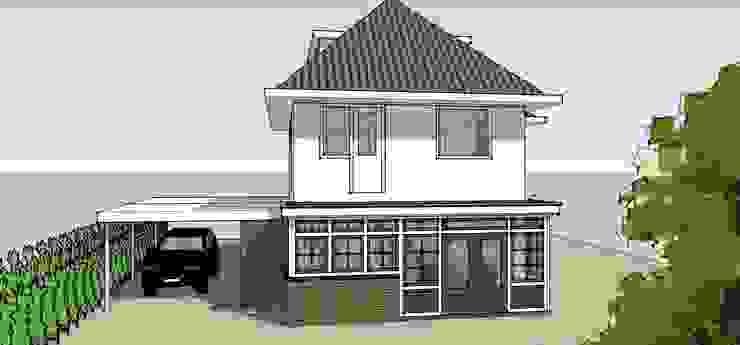 Aanbouw en carport Klassieke huizen van De E-novatiewinkel Klassiek Steen