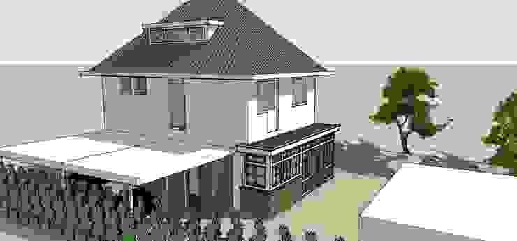 Aanbouw en carport Klassieke huizen van De E-novatiewinkel Klassiek Hout Hout