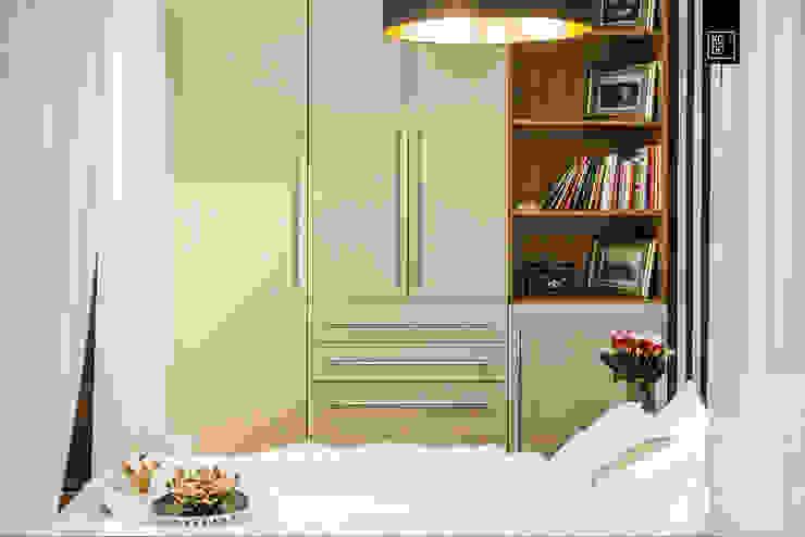 Bedroom by KODO projekty i realizacje wnętrz
