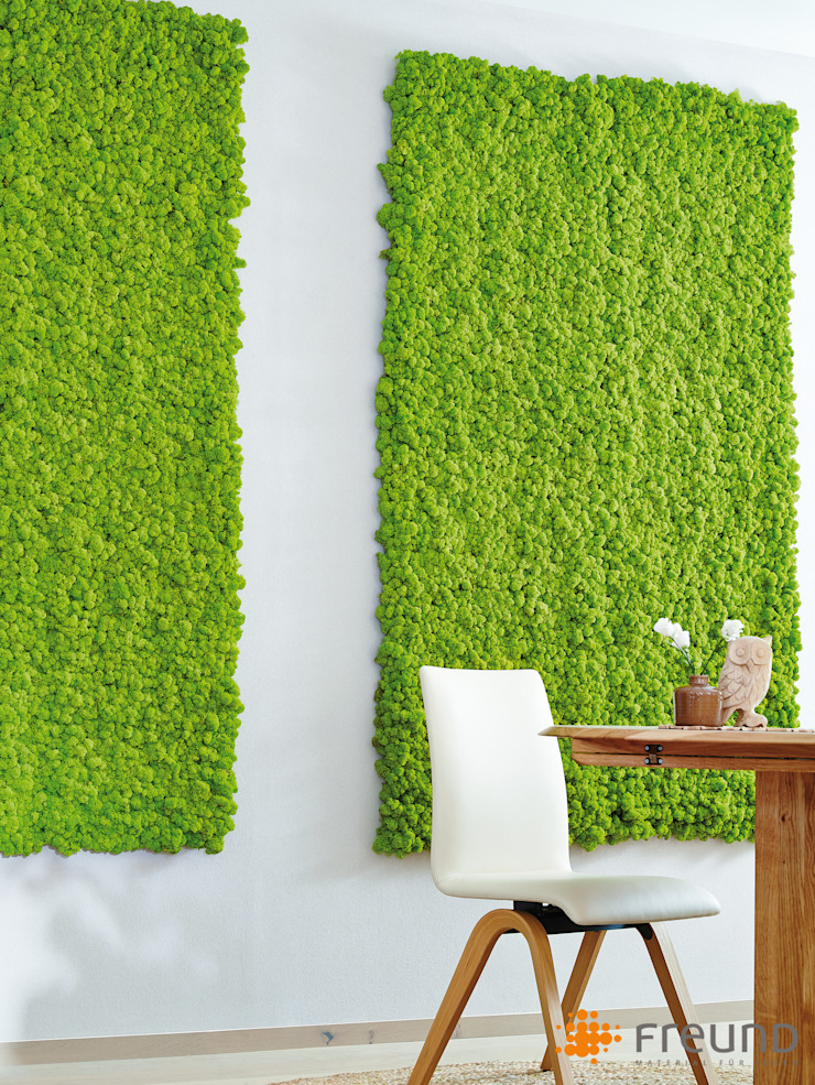 Freund GmbH Livings de estilo ecléctico Verde
