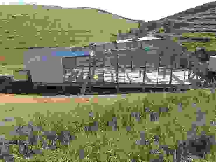 Centro de Estudos e Banco de Reserva Biogenética do Medronheiro Clínicas modernas por 2levels, Arquitetura e Engenharia, Lda Moderno