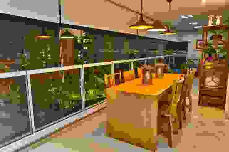 Comedores de estilo rústico de MAJÓ Arquitetura de Interiores Rústico