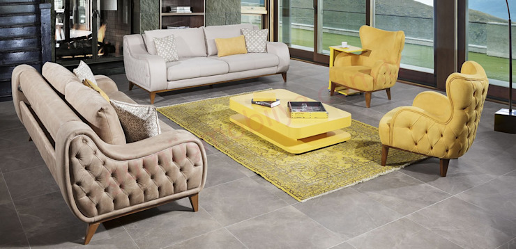 Living room by Gümüş Mobilya
