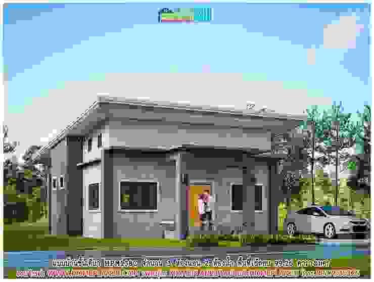 แบบบ้านชั้นเดียว HPM138C โดย แบบแปลนบ้านสำเร็จรูป