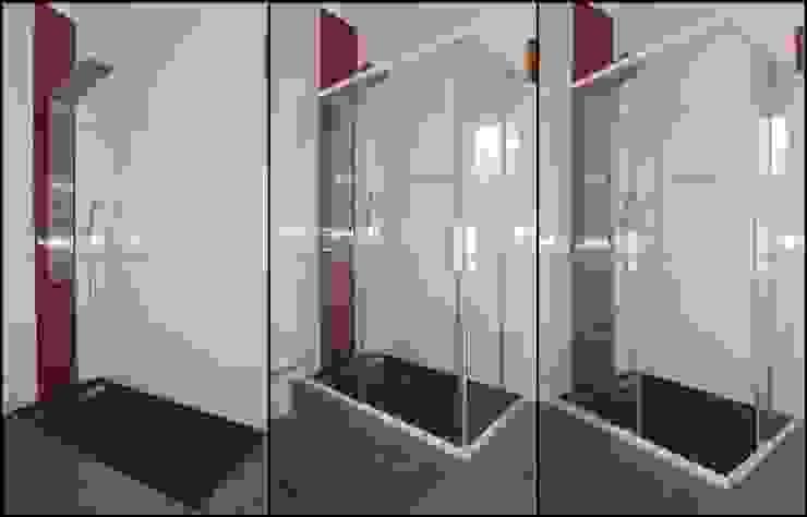 Cabine duche vidro liso por Euroduches Lda. Moderno Vidro