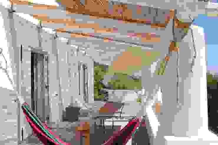 Śródziemnomorski balkon, taras i weranda od Arkinki Śródziemnomorski