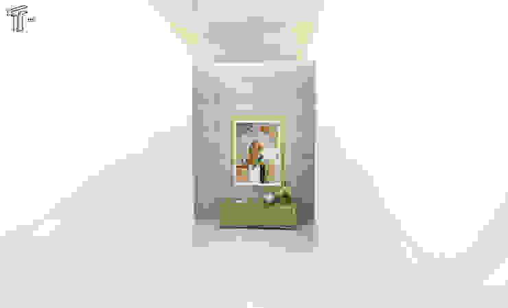 DLLL Modern Corridor, Hallway and Staircase by TAMEN arquitectura Modern