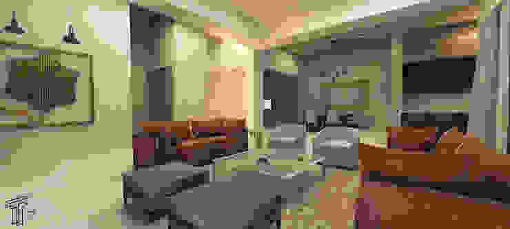 DLLL Modern Living Room by TAMEN arquitectura Modern