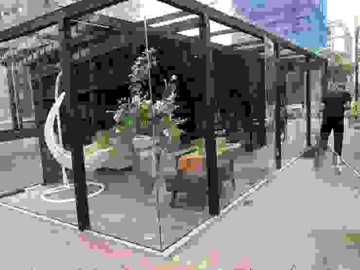 貨櫃咖啡屋 根據 貨櫃屋設計狂人 工業風 鐵/鋼
