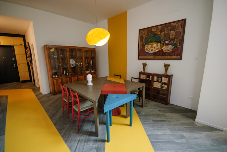 Modern dining room by Architetto Francesco Franchini Modern