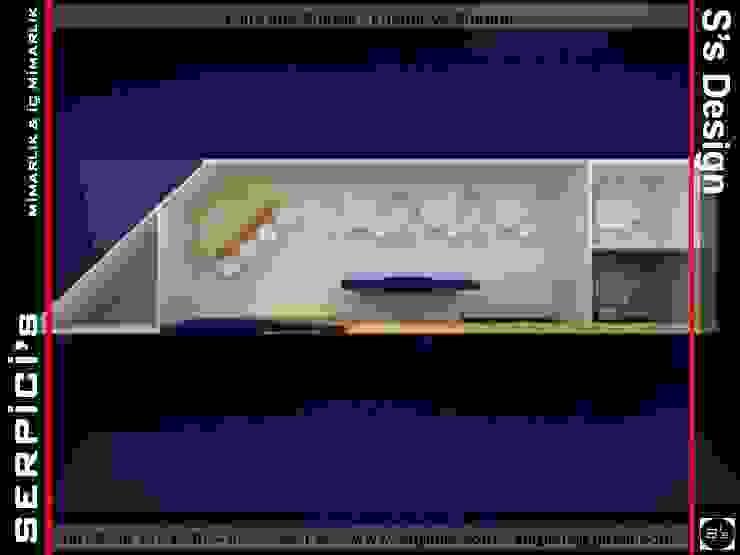 TUANA KUYUMCULUK – FUAR PROJE TASARIM ve UYGULAMALARI – SERPİCİ's MİMARLIK ve İÇ MİMARLIK – S's Desıgn SERPİCİ's Mimarlık ve İç Mimarlık Architecture and INTERIOR DESIGN Modern Ahşap Ahşap rengi