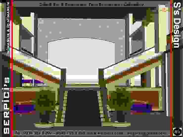 TESTİ RESTAURANT ÇEKMEKÖY - KAFE BAR RESTAURANT PROJELERİ - SERPİCİ's MİMARLIK ve İÇ MİMARLIK – S's Desıgn SERPİCİ's Mimarlık ve İç Mimarlık Architecture and INTERIOR DESIGN Tropikal İşlenmiş Ahşap Şeffaf