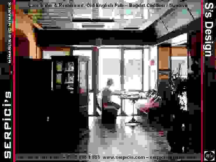 OLD ENGLİSH PUB SUADİYE - KAFE BAR RESTAURANT PROJELERİ - SERPİCİ's MİMARLIK ve İÇ MİMARLIK – S's Desıgn Modern Bar & Kulüpler SERPİCİ's Mimarlık ve İç Mimarlık Architecture and INTERIOR DESIGN Modern Ahşap-Plastik Kompozit
