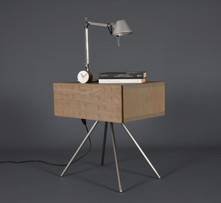 غرفة نوم تنفيذ Ebanisteria Cavallaro, حداثي خشب Wood effect