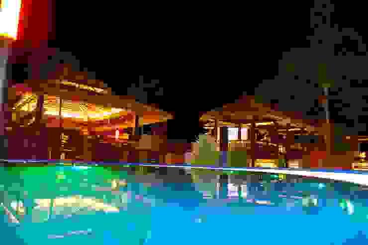 comprar en bali Tropische Hotels Holz Braun