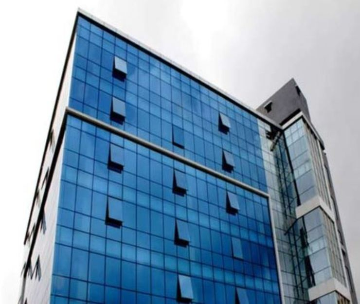 Elevation by NEW AGE ARCHITECTURAL SYSTEMS. Modern Glass