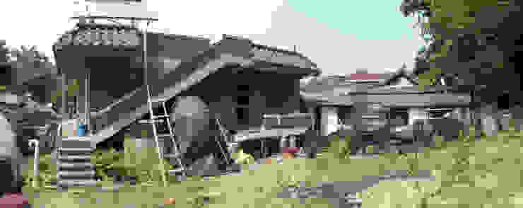남양주 주택 리모델링: isangwon architects의 현대 ,모던