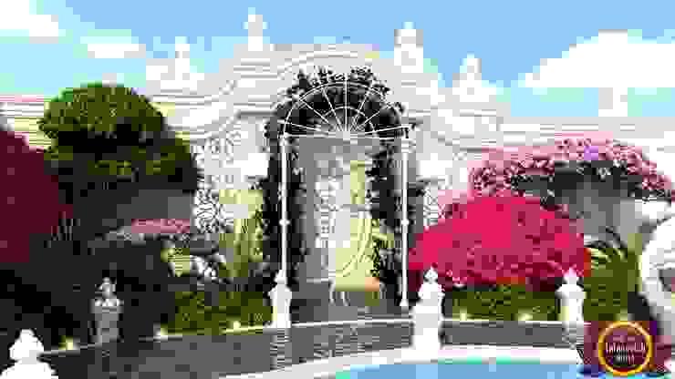 Luxury Landscaping of Katrina Antonovich Mediterranean style house by Luxury Antonovich Design Mediterranean