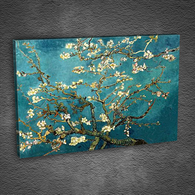 Blossoming Almond Tree: classic  by Tabloda, Classic