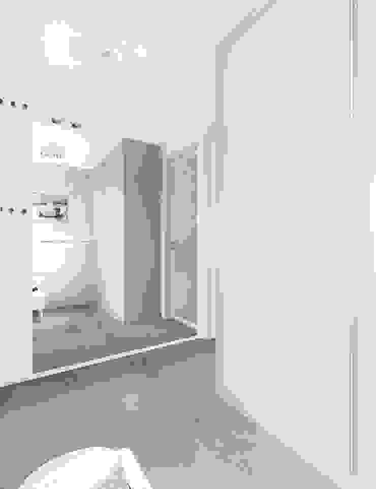 Modern corridor, hallway & stairs by Kołodziej & Szmyt Projektowanie wnętrz Modern