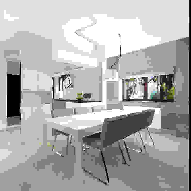 Modern dining room by Kołodziej & Szmyt Projektowanie wnętrz Modern