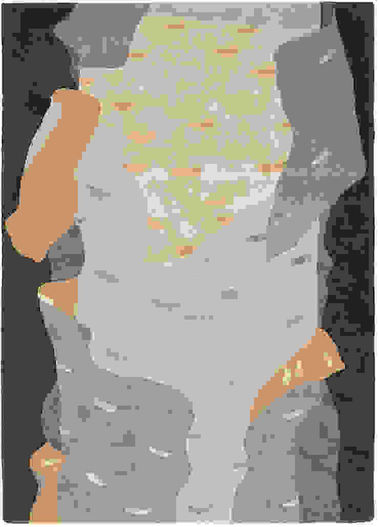 Deirdre Dyson SILVER BIRCH hand knotted wool and silk rug Deirdre Dyson Carpets Ltd Walls & flooringCarpets & rugs