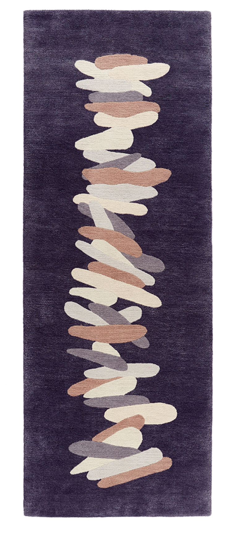 Deirdre Dyson TUMBLE hand knotted wool and silk carpet runner Deirdre Dyson Carpets Ltd Walls & flooringCarpets & rugs