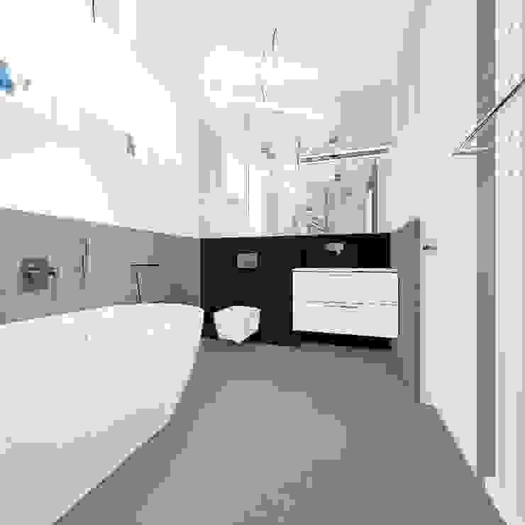 Modern style bathrooms by Kołodziej & Szmyt Projektowanie wnętrz Modern