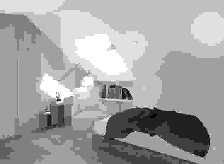 Modern style bedroom by Kołodziej & Szmyt Projektowanie wnętrz Modern