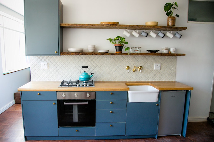 LITTLE MS DYNAMITE AND THE URBAN GEM homify Kitchen