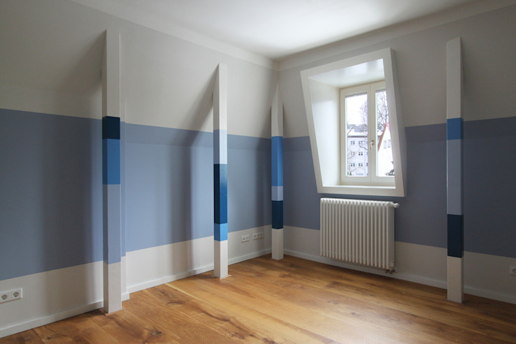 child´s room brandt+simon architekten Classic style nursery/kids room Blue