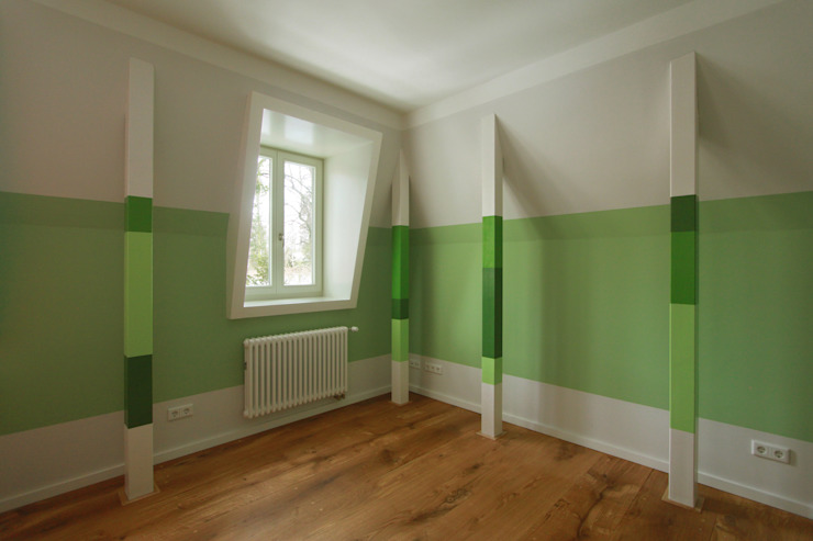 child´s room brandt+simon architekten Classic style nursery/kids room Green