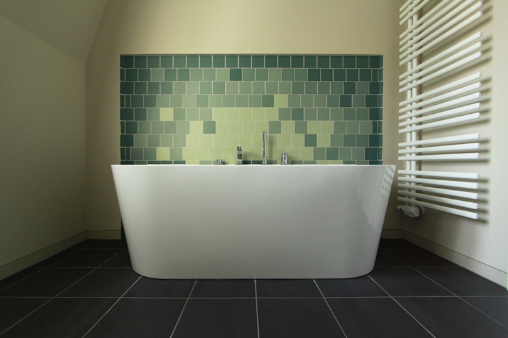 bathroom Modern bathroom by brandt+simon architekten Modern Tiles