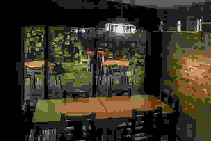 Gastronomie originale par santiago dussan architecture & Interior design Éclectique