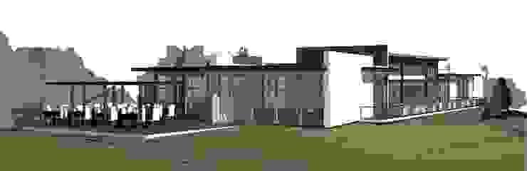 Clube House de Golf Ecoclógico por 2levels, Arquitetura e Engenharia, Lda
