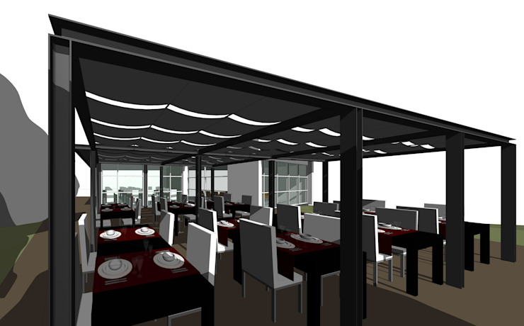 Club House de Golf ecológico por 2levels, Arquitetura e Engenharia, Lda