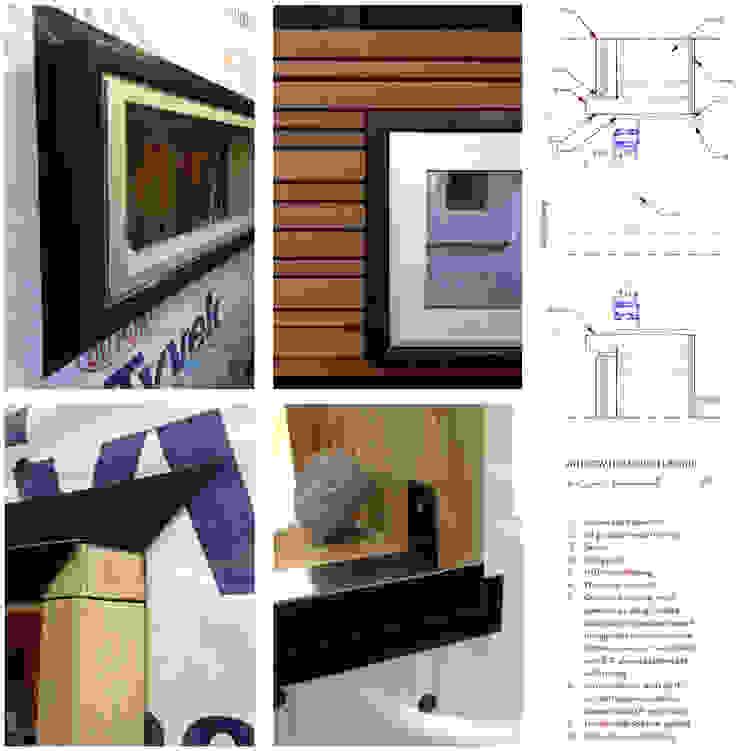 Studio Retreat, New Orleans: minimalist  by studioWTA, Minimalist