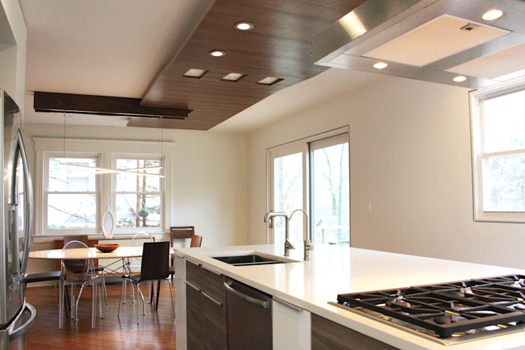 NY Metro- Beyond Function Kitchen Modern Kitchen by Atelier036 Modern