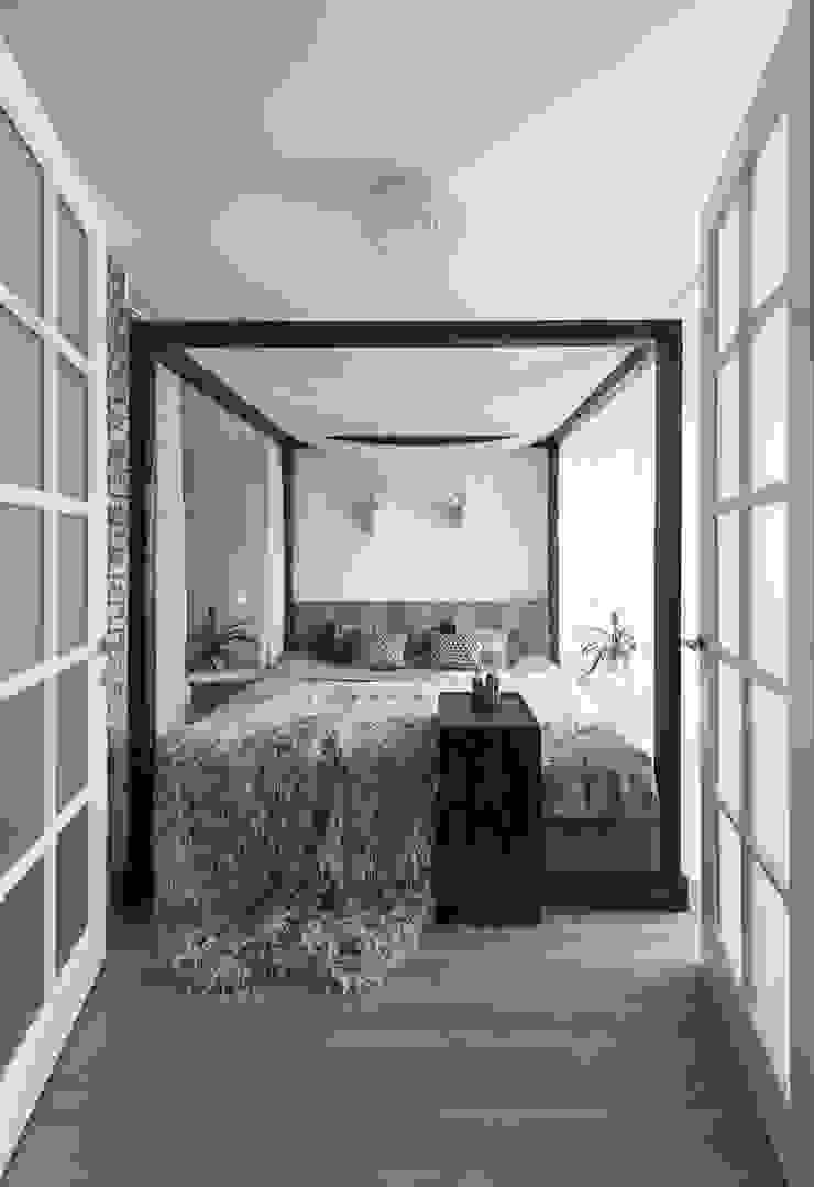 Irina Derbeneva Dormitorios de estilo industrial
